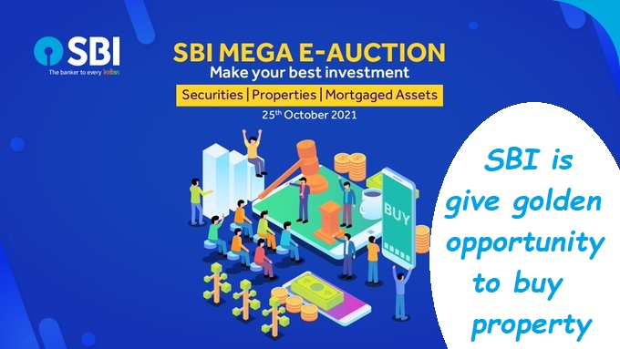 Good News! SBI is give golden opportunity to buy property, check all details here